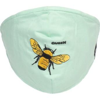 Máscara reutilizável verde hortelã abelha Buzzy Bee da Goorin Bros.