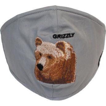 Máscara reutilizável cinza urso Bear Mountain da Goorin Bros.