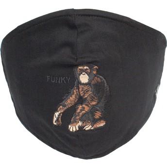 Máscara reutilizável preta macaco Silly Monkey da Goorin Bros.