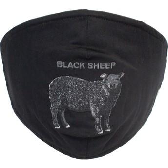 Máscara reutilizável preta ovelha Sheep Rock da Goorin Bros.