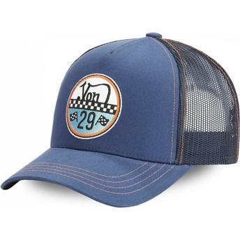 Boné trucker azul ADAM BLU da Von Dutch