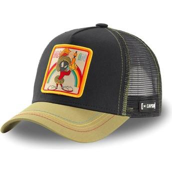 Boné trucker preto e khaki Marvin o Marciano LOO MAR1 Looney Tunes da Capslab