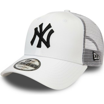 Boné trucker branco 9FORTY Summer League da New York Yankees MLB da New Era
