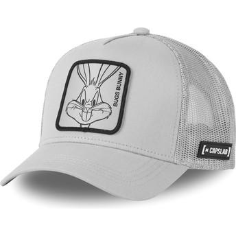 Boné trucker cinza Bugs Bunny LOO4 BUG1 Looney Tunes da Capslab