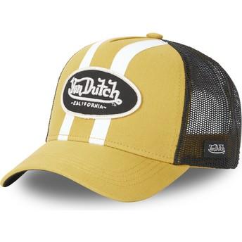 Boné trucker amarelo STRI M da Von Dutch