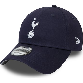 Boné curvo azul marinho ajustável 9FORTY Essential da Tottenham Hotspur Football Club da New Era
