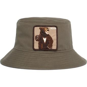 Chapéu balde verde urso Fighting Bear da Goorin Bros.