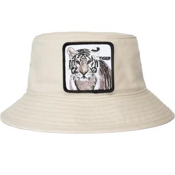 Chapéu balde branco tigre Killer Instincts da Goorin Bros.