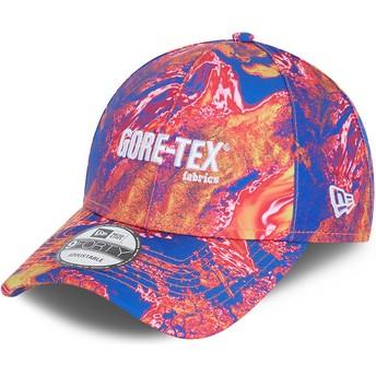 Boné curvo rosa ajustável 9FORTY Gore-Tex da New Era