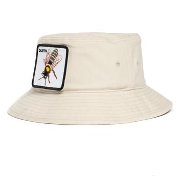 Chapéu balde branco abelha Queen Bee-Witched The Farm da Goorin Bros.