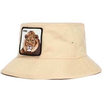 Chapéu balde castanho leão King Lion Around The Farm da Goorin Bros.