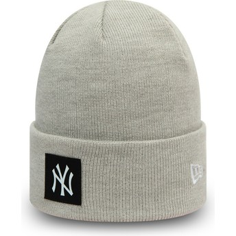 Gorro cinza Team Cuff da New York Yankees MLB da New Era