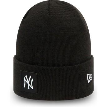 Gorro preto Team Cuff da New York Yankees MLB da New Era