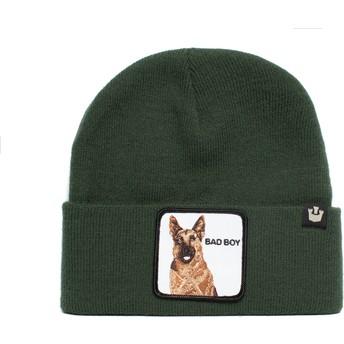 Gorro verde cão pastor alemão Bad Boy Sniff Sniff The Farm da Goorin Bros.