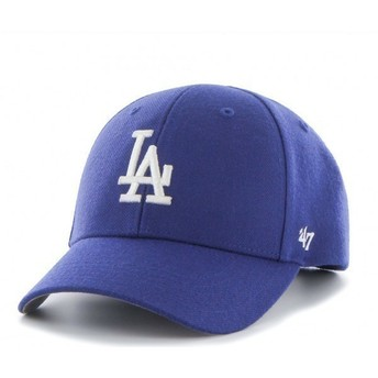 Boné curvo azul dos Los Angeles Dodgers MLB da 47 Brand