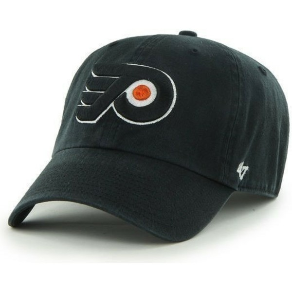 bone-curvo-preto-dos-philadelphia-flyers-nhl-clean-up-da-47-brand