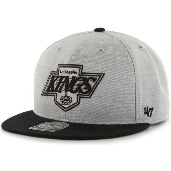 bone-plano-cinza-e-preto-snapback-dos-los-angeles-kings-nhl-da-47-brand
