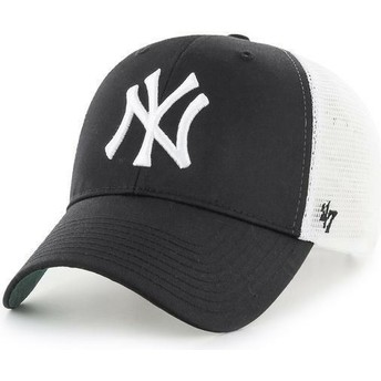 Boné trucker preto dos MLB New York Yankees da 47 Brand