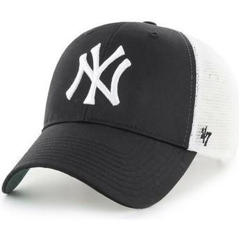 Boné trucker preto dos MLB New York Yankees da 47 Brand