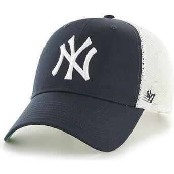 Boné trucker azul marinho dos MLB New York Yankees da 47 Brand