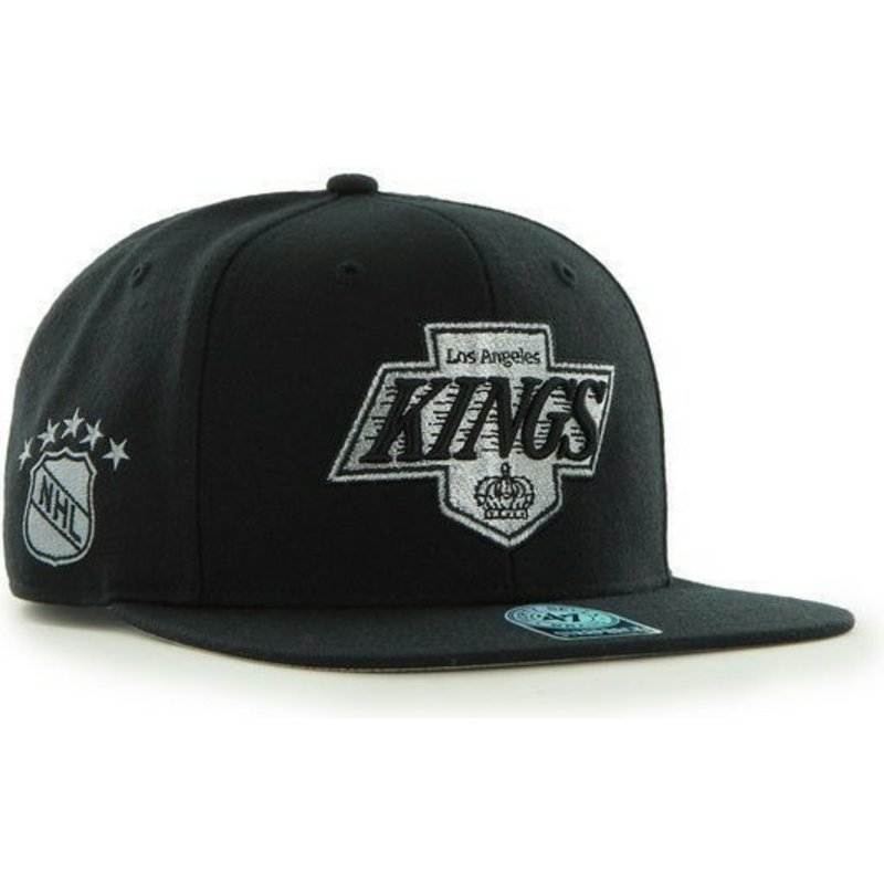 bone-plano-preto-snapback-liso-dos-nhl-los-angeles-kings-da-47-brand