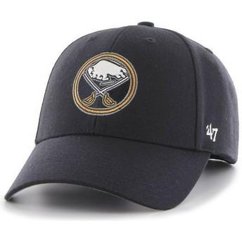 Boné curvo azul marinho dos NHL Buffalo Sabres da 47 Brand