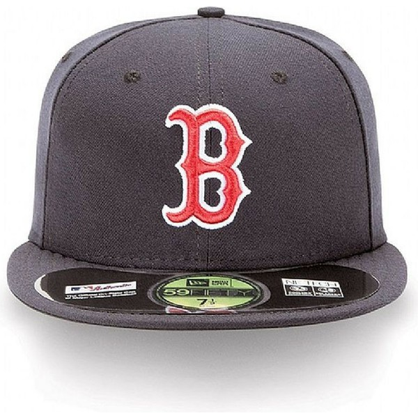 bone-plano-azul-marinho-justo-59fifty-authentic-on-field-dos-boston-red-sox-mlb-da-new-era